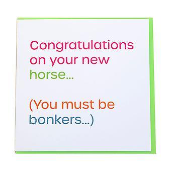 Gubblecote Bonkers Greetings Card