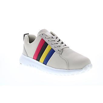 Camper TWS Kvinders Grå Nylon Lace Up Euro Sneakers Sko