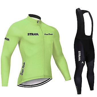 Long Sleeve Cycling Jersey Set