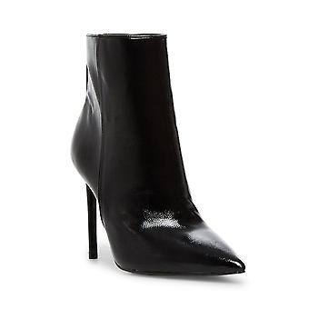 Steve Madden Womens Via läder pekade Tå Ankel Mode Boots
