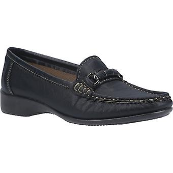 Cotswold Womens Barrington Slip on Loafer Shoe Navy