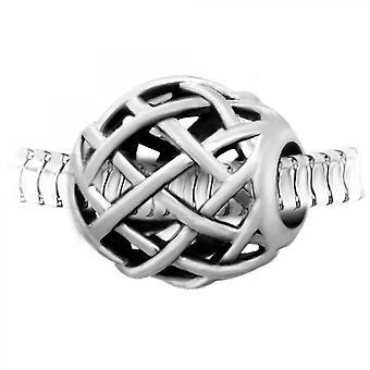 Charm pärla stål av SC Crystal