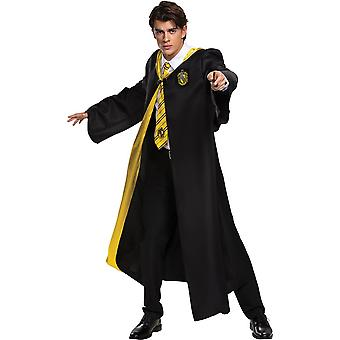 Hufflepuff Robe Deluxe Adulto - Harry Potter