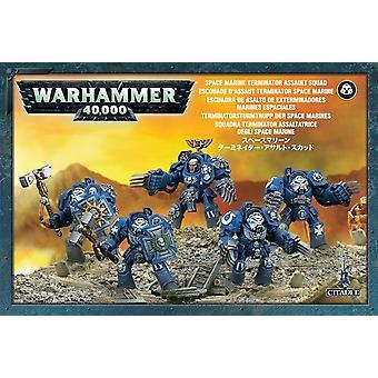 Warhammer 40K - Space Marines Terminator Assault Squad