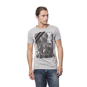 Verri Grigioo Grey Print T-shirt