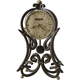 Howard Miller Vercelli Mantel Clock - Dark Brown