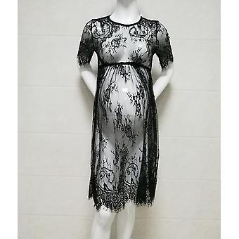 Elegant Lace Maternity Dress, Photography Long Maxi Dresses For Pregnant Women