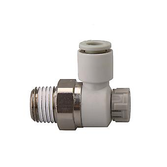 Pneumatic Air Speed Control Valve Fitting Connector 6mm AS2201F-02-06SA