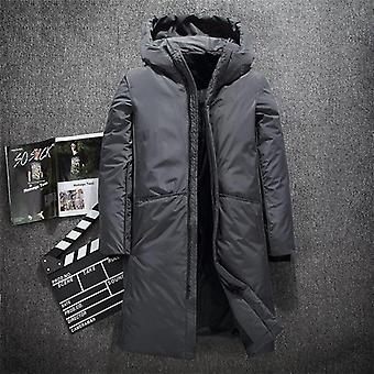 Warm Thick Winter Down Jacket Men Brand Clothing Top Quality X-long Coat