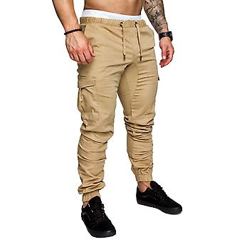 Men's Trousers Casual Fashion Elastic Pants For Male