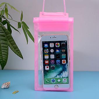 Plavecké tašky nepremokavé vrece podvodná suché puzdro puzdro mobilný telefón