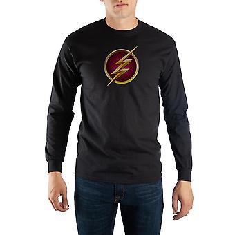 Black long sleeve flash t-shirt