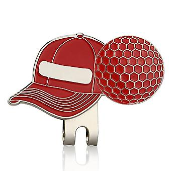New Golf Ball Mark+golf Hat Clip Magnetic Alloy Marker Golf Accessories