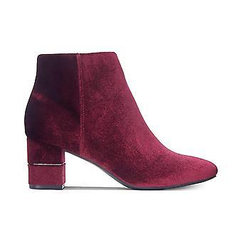 Alfani Womens Nickki Leather Closed Toe Ankle Fashion Boots