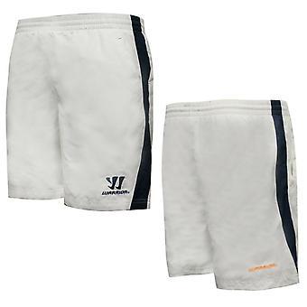 Warrior TRG Mens Woven Shorts Training Pants White WSSM251-WIN P1E