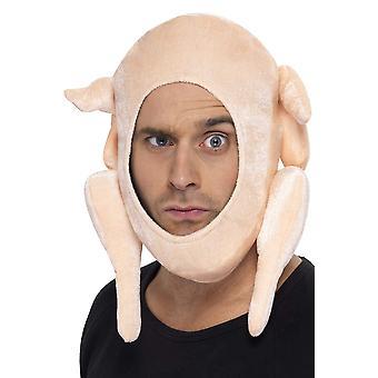 Smiffy's men's turkey hat men: one size pink