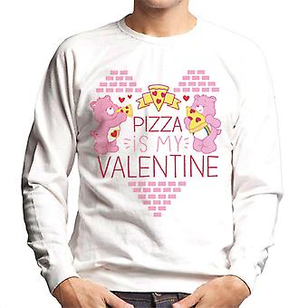 Care Bears Pizza Is My Valentine Men's Sweatshirt
