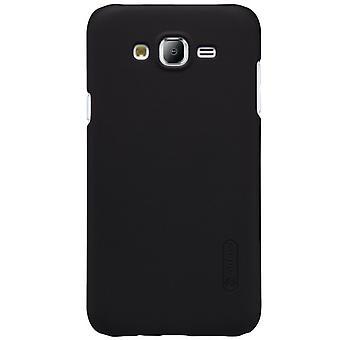 Liukastumisenesteinen kova suojakotelo Samsung Galaxy J5: lle - musta