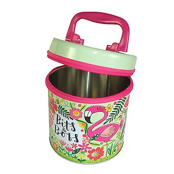 Childrens colourful bits and bobs storage tin