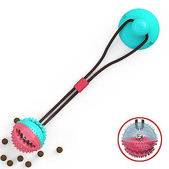 Silicon Suction Cup Tug Interactive Dog Tooth Cleaning, Feeding Ball