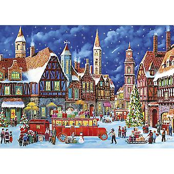 Gibsons Pussel Yuletide Leveranser 2 x 500 Pieces