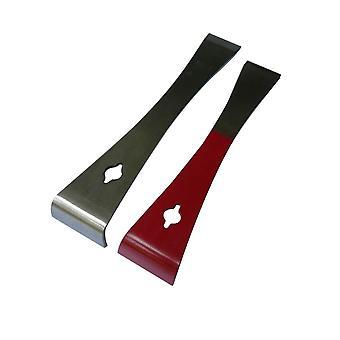 Mutifunction Stainless Steel Prybar And Scraper Razor Sharp Scraper Edges