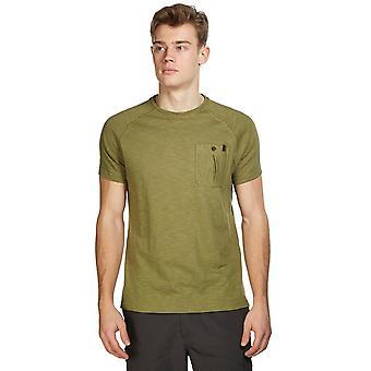 New Brasher Men's Travel Everyday Wear Hopegill Tee Green