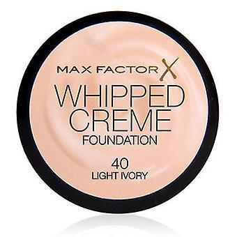 Max Factor Cream Foundation Whipped Cream