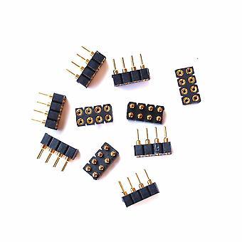 10kpl 860023 Nem652 Naisten pistorasiat Full Gold-plated/laisdcc