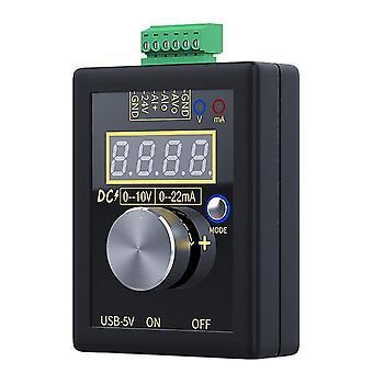 0-10V 0-20ma Signalgenerator Tasche analoge Spannung Strom Simulator Kalibrator y98e