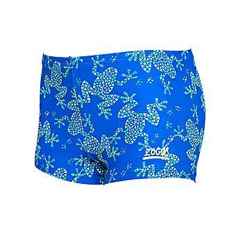 Zoggs 토츠 소년 개구리 엉덩이 레이서 수영 트렁크