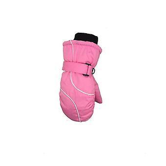 Winter Warm Épaissi Warm Splicing Ski Gloves Waterproof Windproof Outdoor