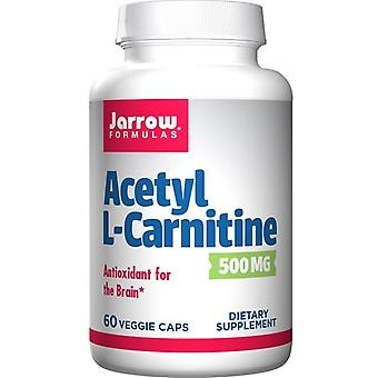 Jarrow Formulas Acetyl L-Carnitine 500mg Vegicaps 60