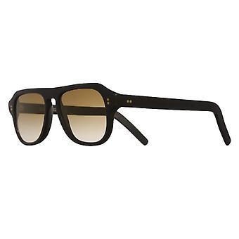 Cutler and Gross 0822/S2 MB-BZF Matte Black/Bronze Flash Gradient Sunglasses