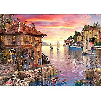 kuou 1000 Pieces Jigsaw Puzzles for Adults,Kids Educational Toys DIY Gift Fun Game 50 x 70cm/20 x 27