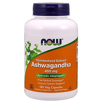 Now Foods Ashwagandha 450 mg 180 Cápsulas Vegetales