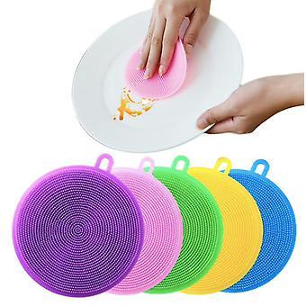 2-pack Silicone Disk Sponge - Magnic Silicone Dish Sponge Wassen