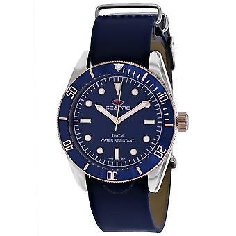 Seapro Revival Quartz Blue Dial Men's Watch SP0303