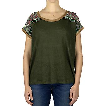 Custo Barcelona Women T-shirt End Heir Multicolor