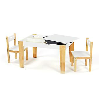 Activity Wooden Table & 2 Chair Set