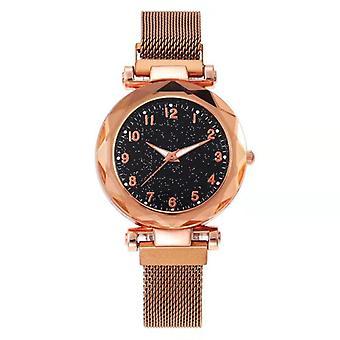 Magnetic Starry Shs Clock Luxury Diamond Female Quartz Wrist  Watches