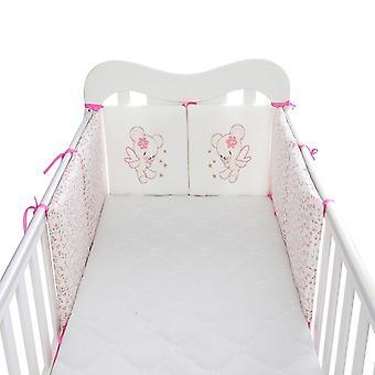 Pare-chocs de lit infantile d'enfants, bébé protecteur de lit, lit de coton d'enfants, pépinière pour