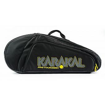 Karakal برو جولة المباراة 4 مضرب حقيبة الرياضة المعدات حقيبة ظهر نظام حمل