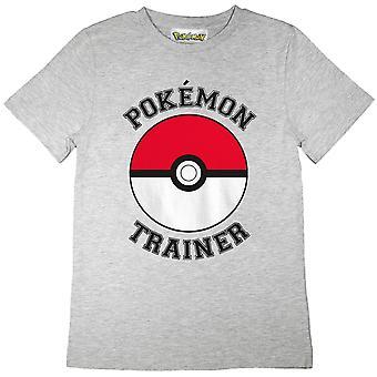 Pokemon Boys Trainer Pokeball T-Shirt