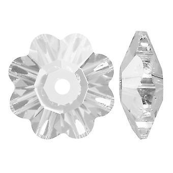 سواروفسكي كريستال، #3700 زهرة مارغريتا الخرز 14mm، 4 قطع، كريستال