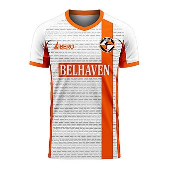 Dundee Tangerines 2020-2021 Away Concept Shirt (Libero)