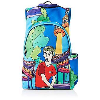 MorikukkoMorikukko Hooded Backpack SeoulUnisex - AdultZainiMulticolore (Seoul)33x8x40 Centimeters (W x H x L)