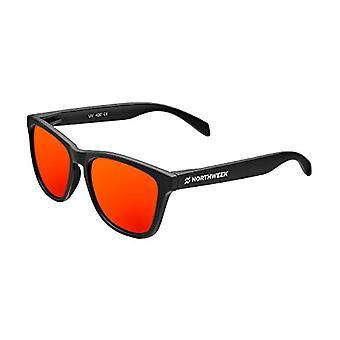 Northweek Regular Flaka Sunglasses, Red, 140.0 Unisex-Adult