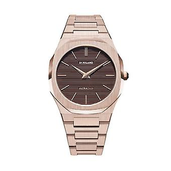 D1 milano watch champagne brown d1-utbj13