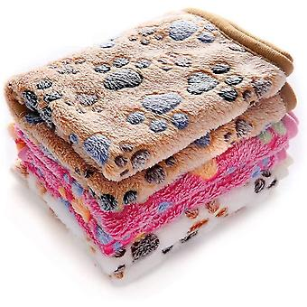 1 Pack 3 Decken Super Weich Fluffy Premium Fleece Haustier Decke Flanell Wurf für Hund Welpen Katze